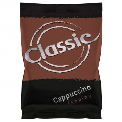 Classic cappuccino topping