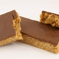 Chocolate caramel flapjack (30s)
