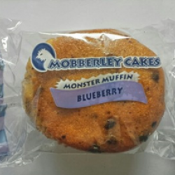 Blueberry flavour monster muffin