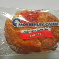 Cherry flavour monster muffin