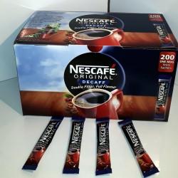 Nescafe decaffeinated sachets