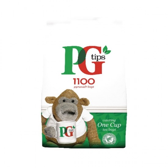 PG tips 2 x 1100 One Cup Catering Tea Bags
